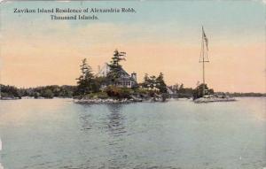 New York City Thousand Island Zavikon Island Residence Of Alexandria Robb