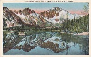 Washington Spokane Snow Lake One Of Washingtons Beautiful Lakes