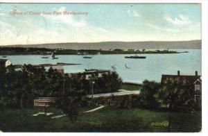Straits of Canso from Port Hawkesbury , Nova Scotia , Canada , PU-1907