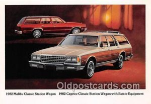 1982 Malibu Classic Station Wagon Auto Car Unused