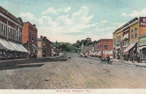 NEWCASTLE , Wyoming, 1910 ; Main Street