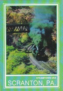 Erie Jessup Branch Trestle Bridge Scranton Pennsylvania
