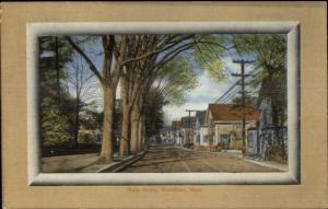 Wareham Cape Cod MA Main Street c1910 Postcard