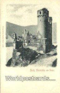 Rheim Burg Ehrenfels Germany Unused