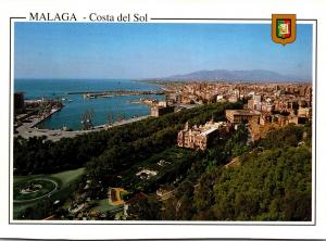 Spain Malaga Costa del Sol Vue Generale