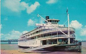 Tennessee Memphis The Delta Queen On The Mississippi River 1971