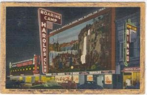 Nevada - Reno - Harolds Club - Ceramic Mural Facade - 1950