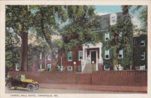 Maryland Annapolis The Carvel Hall Hotel Curteich