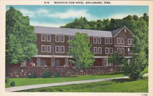 Mountain View Hotel Gatlinburg Tennessee