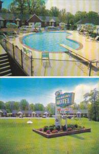 Maryland Baltimore Hawkins Motel Swimming Pool