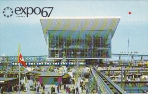 Soviet Union Pavilion Expo 67 Montreal Canada