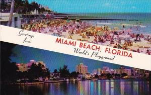 Florida Miami Beach Greetings From Miami Beach Florida The World Playground