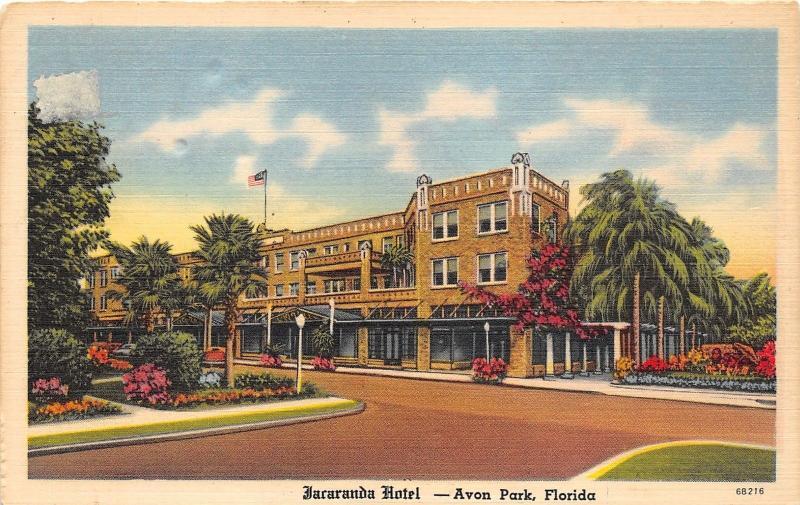 Avon Park Florida Jacaranda Hotel On Orange Blossom Trail Named