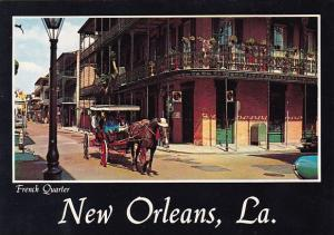 Louisiana New Orleans A Typical New Orleans Scene