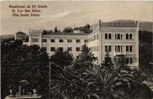 CPA AK St CYR SAN REMO Pensionnat Ste Ursule Villa Santa Croce ITALY (506345)