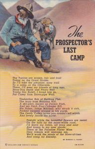 The Prospector's Last Camp, Donkey, 30-40s