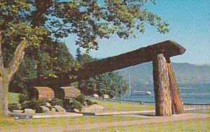 Lumbermen's Arch,  Stanley Park,  Vancouver,  B.C.,   Canada,  40-60s