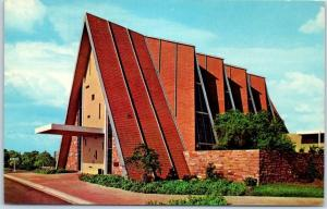 Westminster CA Postcard The Chapel of Westminster Memorial Park Cemetery 1950s