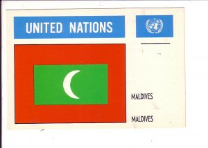 Maldives Flag, United Nations