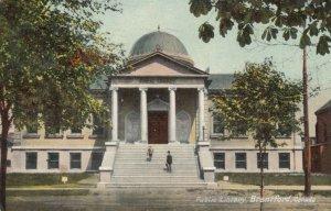 BRANTFORD , Ontario , PU-1910 ; Public Library, version 4