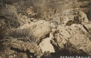 RP: AUBURN , California , 1910-30s ; Auburn Ravine , Gold Mining Placer Country