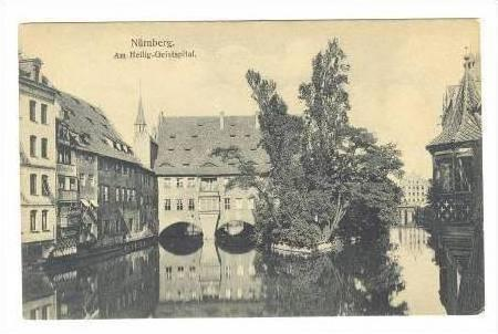Am Heilig-Geistspital, Nürnberg, (Bavaria), Germany, 1900-1910s