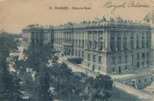 MADRID , Spain, 1900-10s ; Palacio Real
