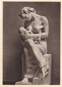RP: Munchen, Haus der Deutschen Kunst, Josef Thorak, Mutter mit Kind , 30-40s