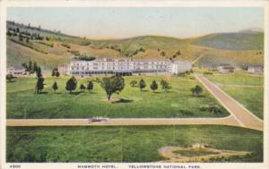 Mammoth Hotel Yellowstone National Park 1920