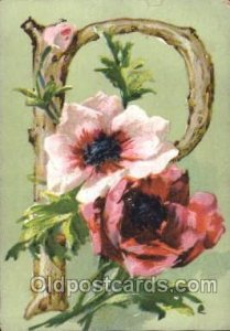 Artist Signed Catherine Klein postal used unknown small tear top edge, roundn...