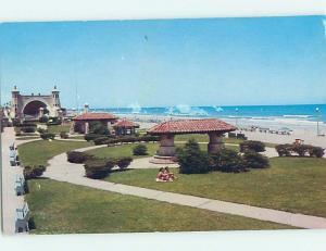 Pre-1980 PARK SCENE Daytona Beach Florida FL hk6923
