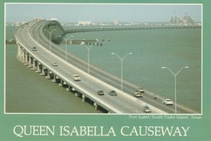 PORT ISABEL/SOUTH PADRE ISLAND , Texas , 50-70s; Queen Isabella Causeway