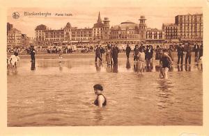 Blankenberghe Belgium, Belgique, Belgie, Belgien Maree Haute Blankenberghe Ma...
