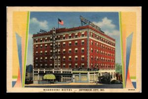 MISSOURI HOTEL JEFFERSON CITY MISSOURI