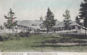 Memorial Hospital North Conway New Hampshire USA Postcard