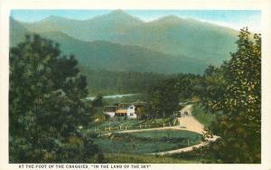 North Carolina~Farm House Barns At Foot Of The Craggies~Craggy Mountains~1920s