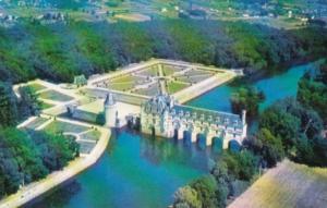 Castles Chateau Of Chenonceaux France