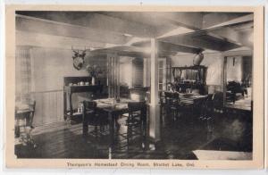 Thompson's Homestead Dining Room, Sharbot Lake Ont