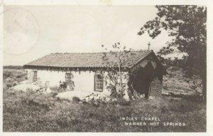 RP: WARNER HOT SPRINGS , California , 1946 ; Indian Chapel