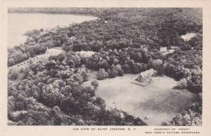 New York Saint Josephs Air View Of Saint Josephs Albertype