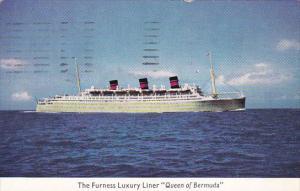 The Furness Luxury LKiner Queen Of Bermuda 1959