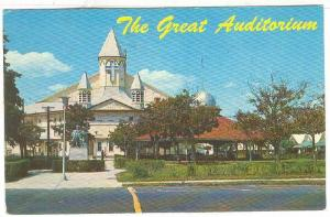Famous Auditorium, Ocean Grove , New Jersey , 40-60s