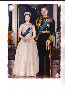 Queen Elizabeth II and The Duke of Edinburough