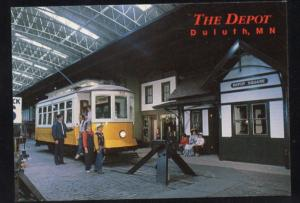 Electric Trolley Depot Square Duluth MN PC unused