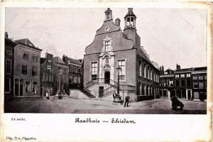 CPA SCHIEDAM Raadhuis NETHERLANDS (602158)