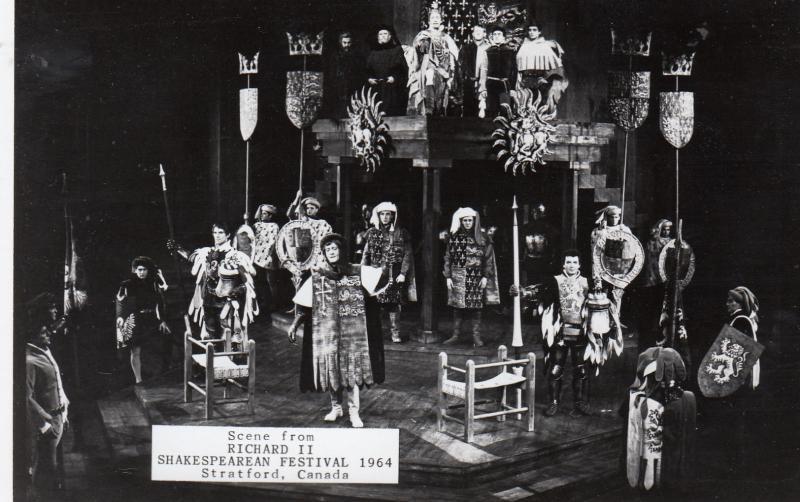 RP: STRATFORD, Ontario, Shakespearean Festival 1964;  Scene From Richard II