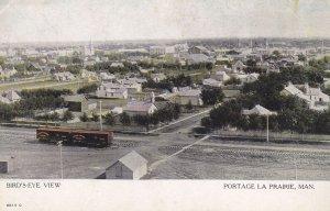 PORTAGE LA PRAIRIE , Manitoba, Canada , 00-10s ; Bird's Eye View