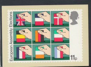 Post Office Postcard - Stamp - European Assembly Elections   RR6380