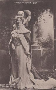Queen Charlotte Episode VIII Looking Posh 1909 Bath Pageant Old RPC Postcard