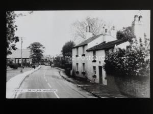 Cheshire WILLASTON Neston Rd & Methodist Church 1960s RP Postcard by Frith WSN41